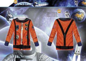 Astronaut 3-D-Kostüm-Shirts katalogübersicht