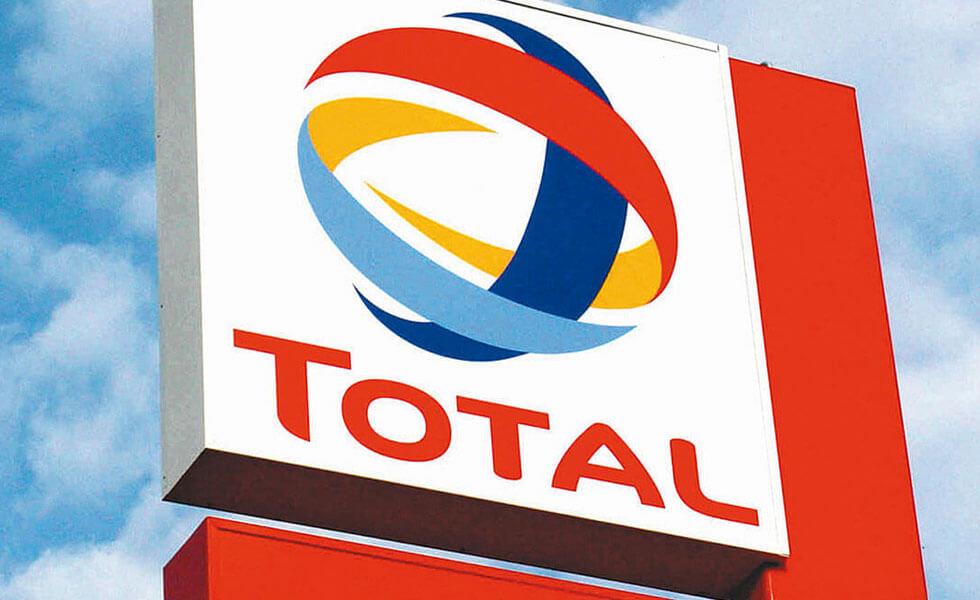 Logo Total Tankstelle