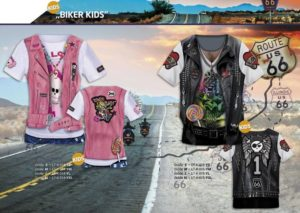 Biker-Kids 3-D-Kostüm-Shirts katalogübersicht