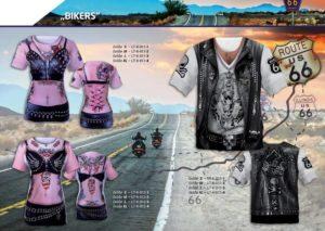 Bikers 3-D-Kostüm-Shirts katalogübersicht