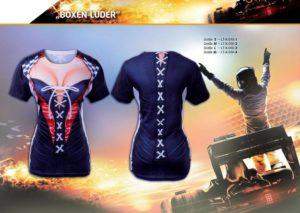 Boxenluder 3-D-Kostüm-Shirts katalogübersicht
