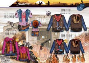 Cowboys 3-D-Kostüm-Shirts katalogübersicht