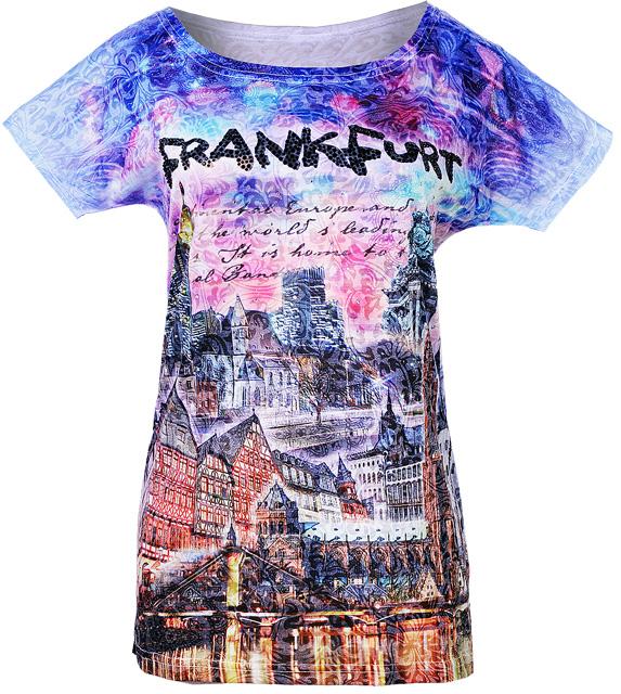 Frankfurt-Shirt von Luna Tex