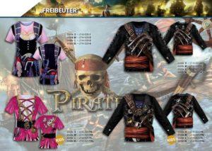 Freibeuter Piraten 3-D-Kostüm-Shirts katalogübersicht