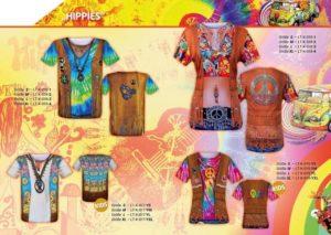 Hippies 3-D-Kostüm-Shirts katalogübersicht