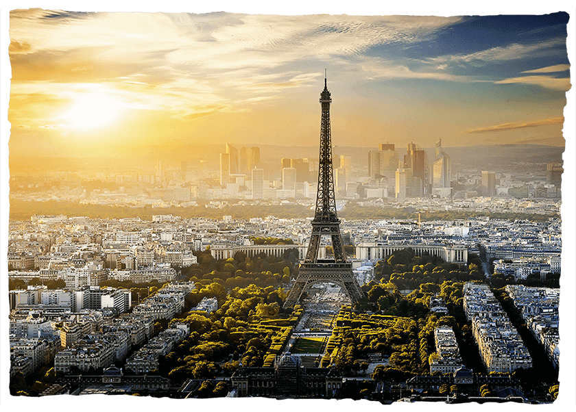 Paris Ansichtskarte Souvenir