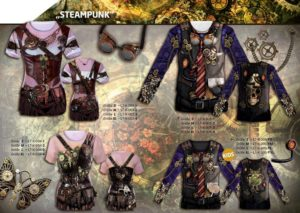 Steampunk 3-D-Kostüm-Shirts katalogübersicht