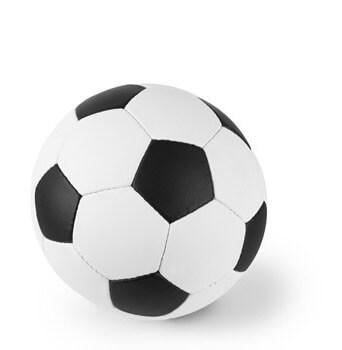 Fußball freigestelltes Motiv
